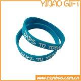 Förderndes Silikon-Armband mit Firmenzeichen-Drucken (YB-w-010)