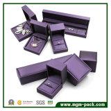 Rectángulo de joyería de cuero modificado para requisitos particulares de gama alta de la PU