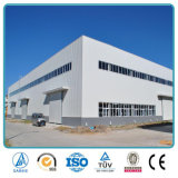 Construction structurale préfabriquée d'entrepôt de bâti en acier de boîtier de coût bas