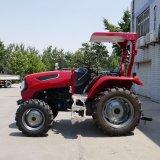 Tractor de rodo tractor agrícola 55HP 4WD 554 Tractor