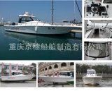 Barco de alta velocidade do barco de pesca Js-UF31 31FT FRP