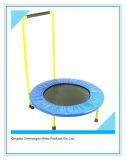Trampolín plegable de la aptitud del diámetro 40-Inch con la barra de la estabilidad