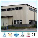 Entrepôt léger bon marché Buliding de structure métallique de modèle préfabriqué