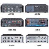 100W RMS que mezcla el amplificador de energía estéreo con la entrada de 2 mic