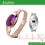 Ladies Fashion Calorie Pedometer Pulsera de reloj inteligente