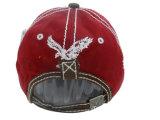 Gorra de béisbol lavada aduana con Stitchings muy grueso Gjwd1724