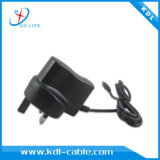 イギリス米国Plug AC DC 110V 240V Input Wall Mount Adapter