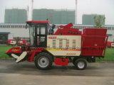 큰 탱크 수용량을%s 가진 가득 차있는 공급 옥수수 수확자 기계장치