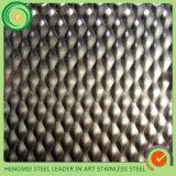 316 201 chapas de aço inoxidáveis de carimbo do GV 304 gravam para a decoração Pannle da parede