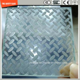 vidro Tempered de 4-19mm para a parede de cortina, hotel, construção, chuveiro, casa verde