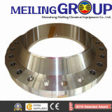 Meiling venta caliente forjado plana de acero inoxidable, acero al carbono ANSI Brida GOST
