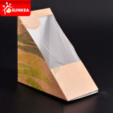 Cuña clara impresa del emparedado del papel de la ventana