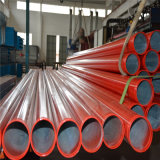 Painting rouge Seamless ERW Steel Pipe pour Fire Sprinkler