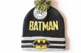 Chapeau de Beanie de jacquard tricoté par hiver acrylique de dessin animé de conception adapté aux besoins du client par produit d'OEM