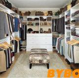 Kundenspezifische Qualitäts-Furnierholz-Walk-in Wandschrank-Garderobe