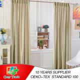 Tende di seta del Faux normale, riga completa 100% delle tende di seta del ringrosso del poliestere