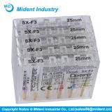 Maschinen-Gebrauch Niti Dentsply Protaper zahnmedizinische Datei