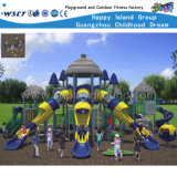 Напольное большое оборудование HD-Kq50002A игры скольжения детей спортивной площадки