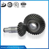 Soem kundenspezifischer Edelstahl-Ring-Gang CNC-des maschinell bearbeitenEdelstahl-Teils