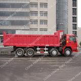 Sino caixa da carga do caminhão 371 8X4 15-25m3 50 toneladas de caminhão de descarregador pesado