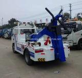6 wielen die de Samengevoegde Vrachtwagen van Wrecker van de Weg voor Verkoop slepen