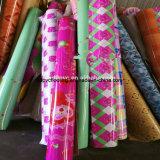 Pisos 다채로운 디자인 빨강 펠트 PVC 마루 또는 En Rollo 또는 플라스틱 마루 롤