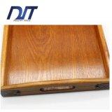 Plateau en bois multifonctionnel de portion de thé de qualité