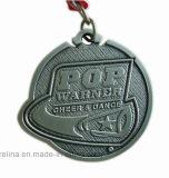 Printed Ribbon를 가진 주문을 받아서 만들어진 Marathon Running Bike Metal Medal