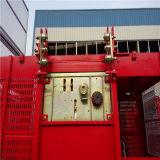 建築現場のためのラック・ピニオン2tの起重機のケージの上昇のエレベーター