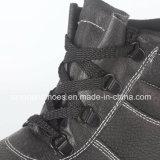 Кожаный верхние стальные ботинки безопасности RS1002 пальца ноги