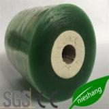 케이블을 감싸기를 위한 Green&Yellow PVC 뻗기 포장 PVC 필름