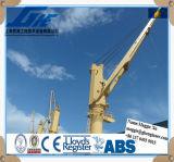 Gru idraulica marina elettrica della piattaforma di telecomando