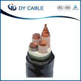 Cabo distribuidor de corrente isolado polietileno do standard internacional XLPE