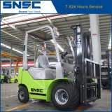 Forklift Diesel áspero de China 1.8t do motor do terreno 2WD Isuzu
