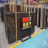 Polished мрамор сляба, плитка сляба Emperador темная для стены