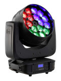 Diodo emissor de luz Moving Head Beam de Lighting 18*15W do disco