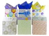 Bolsas de papel del regalo, bolsos del regalo, bolsas de papel del corazón, bolsa de papel de Kraft