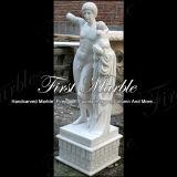 Het witte Standbeeld van Carrara voor Decoratie Mej.-148 van het Huis