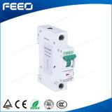 Выключатель автомата защити цепи 6A 10A 1p MCB рельса DIN применения DC PV солнечный