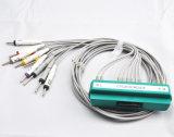 Кабель руководств EKG кабеля 10 Nihon Kohden 1550k EKG