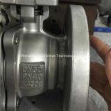 Шариковый клапан Pn16 фланца DIN нержавеющей стали