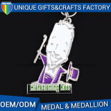 Medaglia in lega di zinco di sport del premio del metallo con il nastro