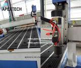 máquina de madera del CNC del corte 3D para el MDF de madera del acrílico del corte