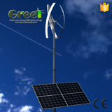 Het Hybride Systeem van de zonne en Turbine van de Wind