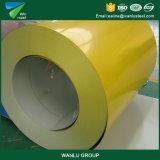 La largeur de la qualité 750-1250mm a enduit la bobine d'une première couche de peinture en acier galvanisée