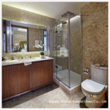 Liso/Bent Tempered/Toughened Glass para Bathroom/Enclosure Door