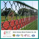 PVC上塗を施してあるチェーン・リンクの塀の/Tennis裁判所の塀のバスケットボールの運動場の塀