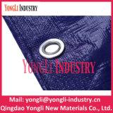 PE tissé ou bâche de protection bleue de tissu, bâche de protection de PE de la Chine de roulis de bâche de protection de PE dans une Rolls