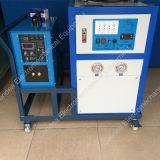 Máquina de aquecimento de alta freqüência industrial da indução para o tratamento térmico do metal