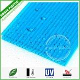 A melhor folha plástica de construção vendida do policarbonato do favo de mel/folha celular do PC